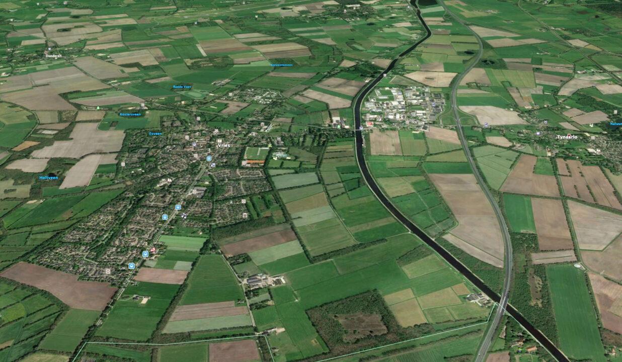 Landbouwgrond in Vries
